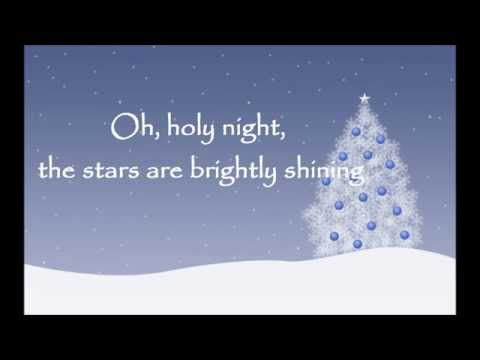 Oh Holy Night  -Mariah Carey version -with lyrics