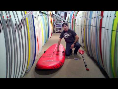 Surftech Black Tip Standup Paddleboard Package Review