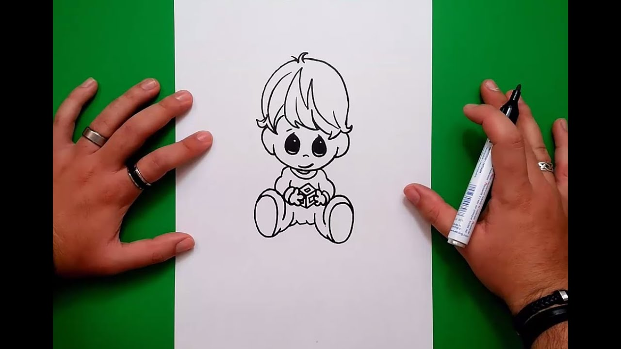 Como Dibujar A Un Niño Paso A Paso How To Draw A Boy