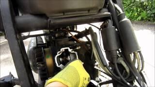 Kolben / Zylinderwechsel Piaggio 50ccm Motor in weniger als 10 min