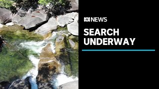Search for missing Brisbane man who disappeared while swimming at Babinda Boulders   ABC News