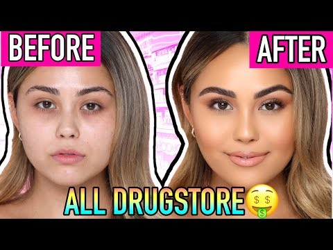 Ultimate Drugstore Makeup Tutorial for Beginners (using my drugstore starter kit!) | Roxette Arisa