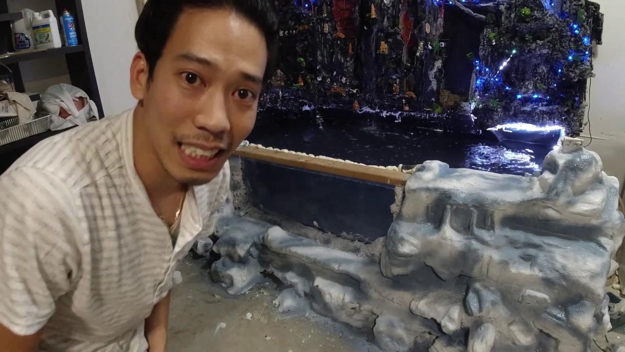 😀766-thích Chơi cá kiểng|Sơn giả đá cẩm thạch|Cá bên Mỹ không đa dạng như bên Việt Nam