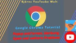 Google Chrome Popup entfernen Werbung Spam Probleme  Deutsch HD Virus