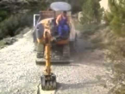 Mini Excavator - Tsapaki hitachi tarzania Vol 1
