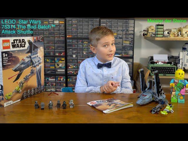 Meister der Steine, Lego 75314, Angriffsshuttle aus The Bad Batch™