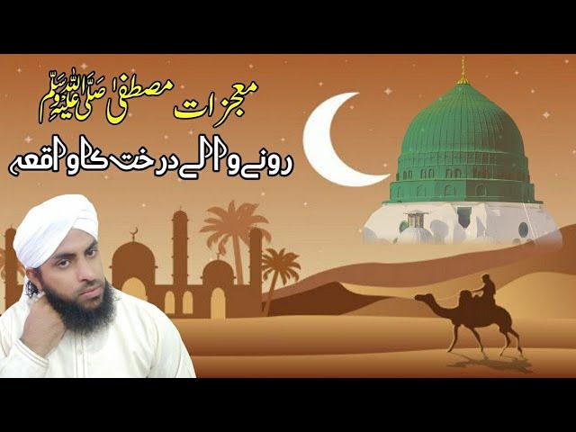 Mujzaat e Mustafa ||Rona wala Darakht ka Waqiya ||Muhammad Siddique Raza Qadri