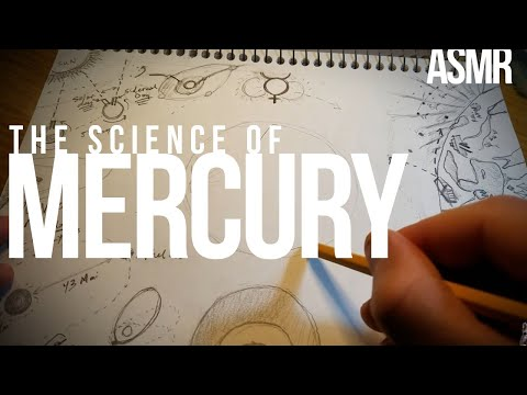 Drawing the first planet: Mercury | soft-spoken ASMR [science, space, astronomy, history]