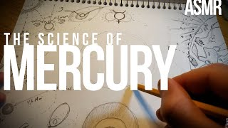 Drawing the first planet: Mercury | soft-spoken ASMR [science, space, ...