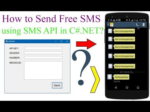 How to Send Free SMS From C#.NET using SMS API?With Source Code]