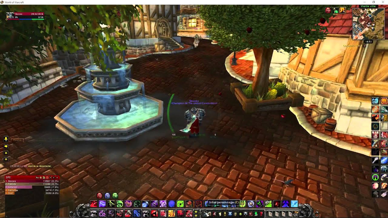 WARCRAFT TÉLÉCHARGER PRIVÉ SERVEUR WORLD OF CATACLYSM