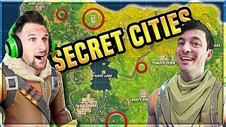 *NEW* Map UPDATE is LIVE // SECRET CITIES // Fortnite Battle Royale Update
