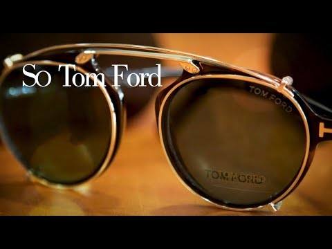 The Tom Ford Clip-On Collection - YouTube