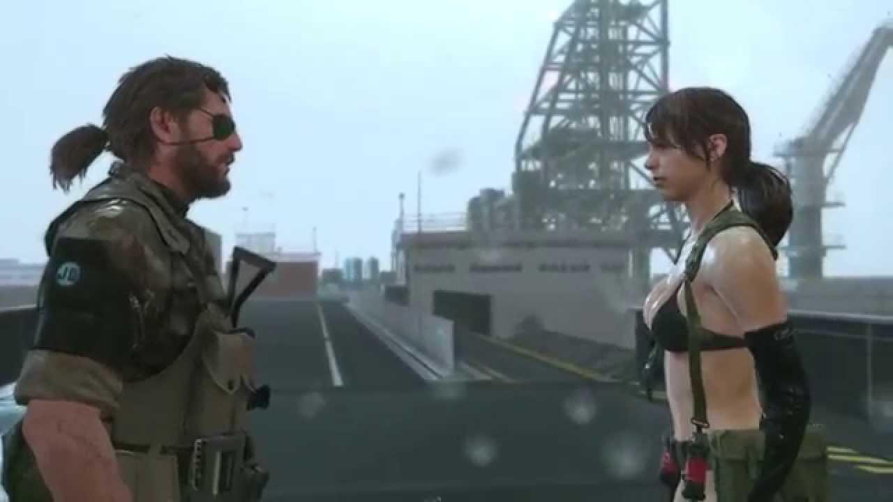 Quiet já esta disponível para jogar em Metal Gear Solid V