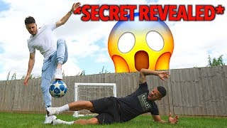 CRAZY LEVITATION TRICK! ⚽😱 *SECRET REVEALED*