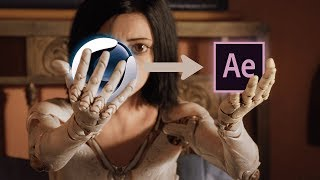 MY FULL C4D TO AFTER EFFECTS WORKFLOW   (Add 3D Objects to Your Footage)