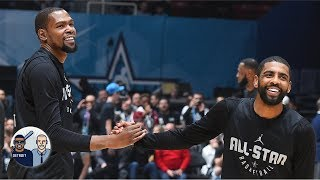 Is Kyrie Irving and Kevin Durant's friendship a good sign for the Knicks?   Jalen & Jacoby