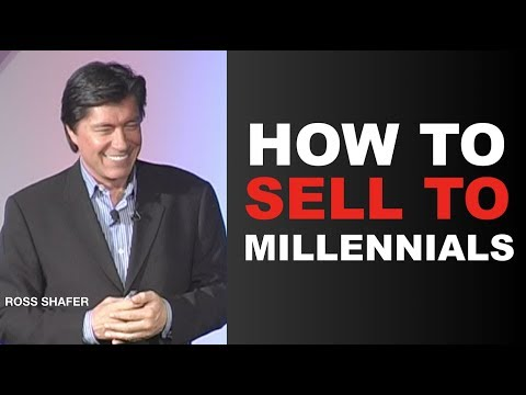 HOW TO SELL TO MILLENNIALS | Ross Shafer | Leadership author keynote speaker