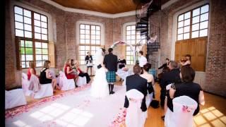 Свадьба на теплоходе Максимус(Выездная регистрация во Флажной башне Петропавловской крепости, а затем свадьба на теплоходе