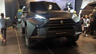Karlmann King a MEGA SUPERTRUCK - Dubai International Motor Show
