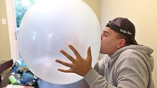 WORLD'S BIGGEST BALLOON CHALLENGE!!