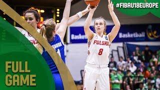 Poland v Great Britain - Full Game - 3rd Place - FIBA U18 Women's European Championship 2017 - DIV B