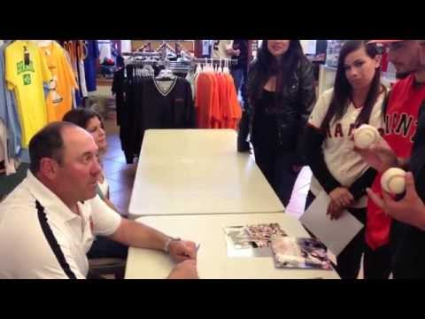 "Will ""The Thrill"" Clark Autograph Signing"