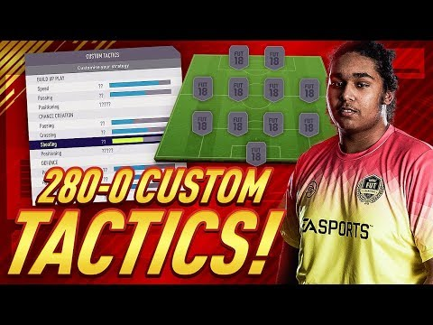 280-0 FUT CHAMPIONS!!! 4-4-2 CUSTOM TACTICS & PLAYER INSTRUCTIONS!!!