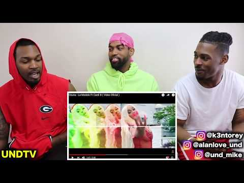 OZUNA FT. CARDI B - LA MODELO [REACTION]