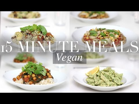 15 Minute Meals (Vegan/Plant-based) | JessBeautician