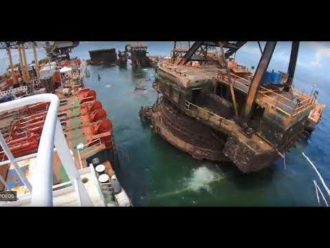 Resolve Salvage - Wreck removal DB1 in the Gulf of Mexico