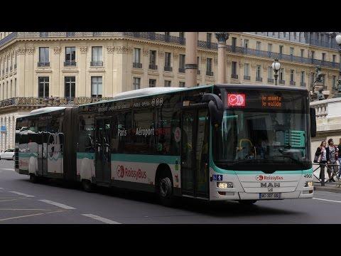 Paris Roissy Bus Man Lion City Opéra - Charles De Gaulle Airport