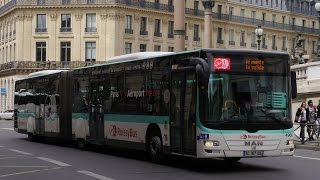 Paris Roissy Bus Man Lion City Opéra - Charles De Gaulle Airport