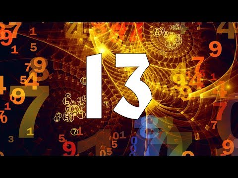 ⑬ Numerology Number 13. Secrets of your Birthday