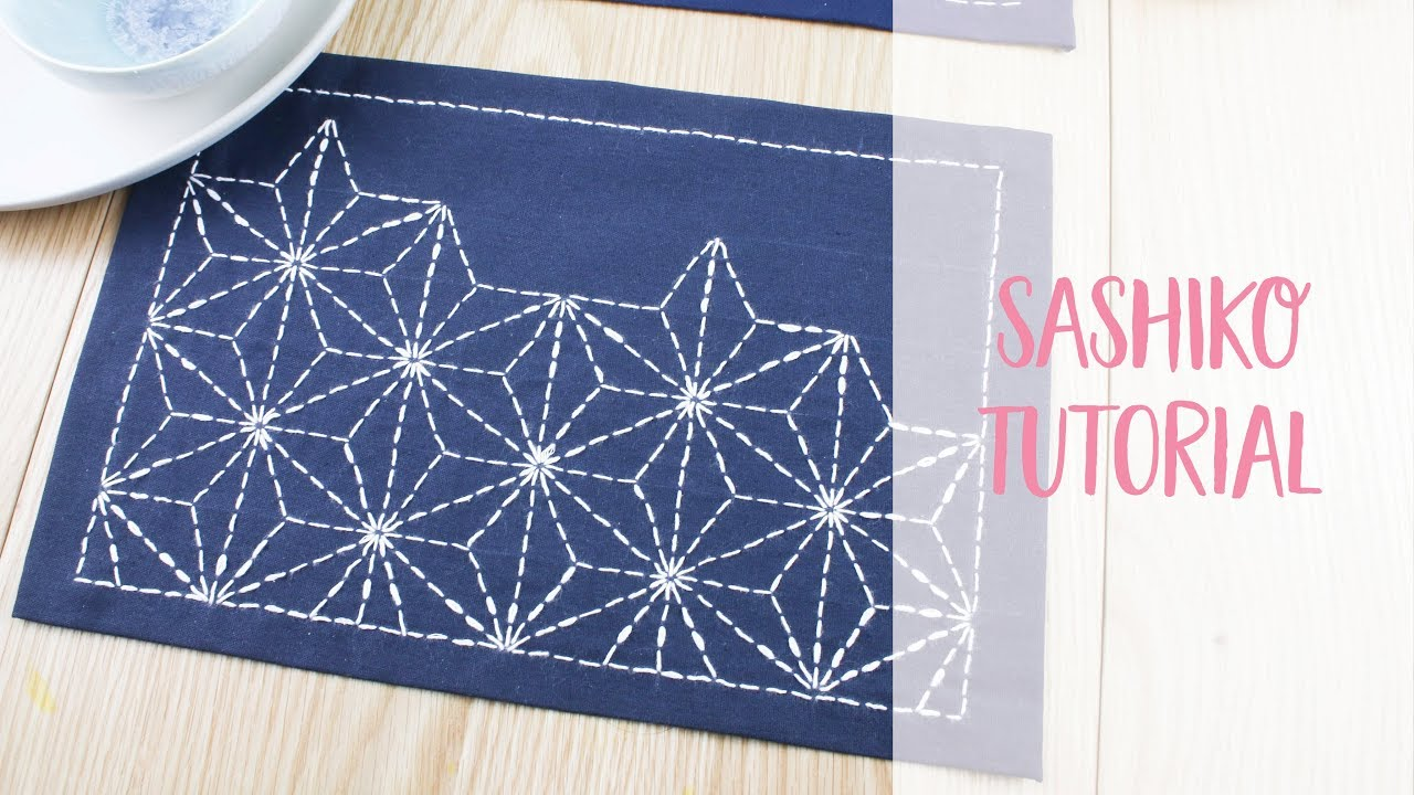 Sashiko Patterns Unique Decorating Ideas