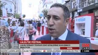 4. Laleli Festivali CNN Türk haberlerinde 25 Ağustos 2015