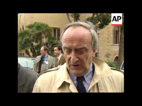 ITALY: PALERMO: EU MIDDLE EAST TERRORISM MEETING