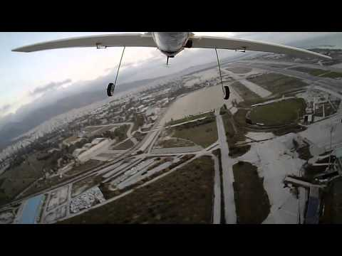 RC - FPV Flight over old airport of Elliniko in Athens - Greece