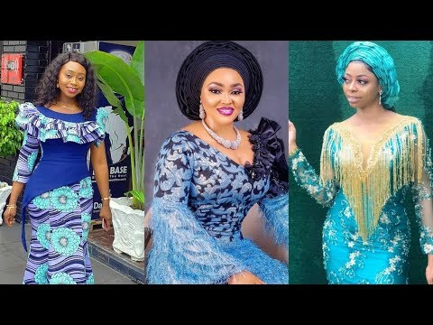 2020 Ankara and Lace #Fashion Styles Ideas : Unique Aso Ebi Collection for #Beautiful Ladies