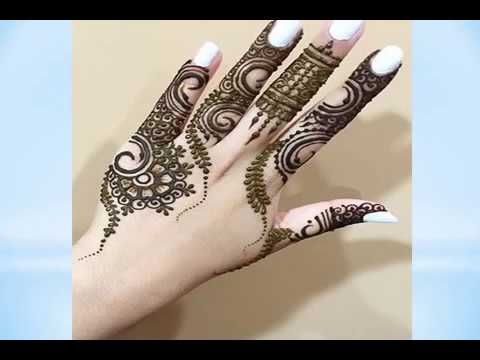 Unique Mehndi Designs For Hands 2017 Youtube