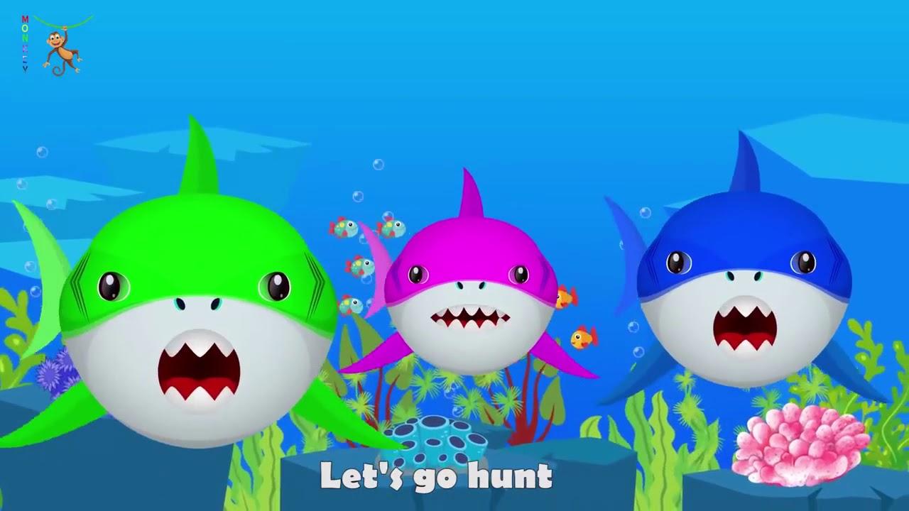 Baby Shark Dance   Let's go hunt! - YouTube