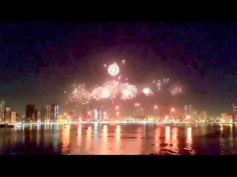 Happy New Year 2018 From The White Dragon Dubai United Arab Emirates