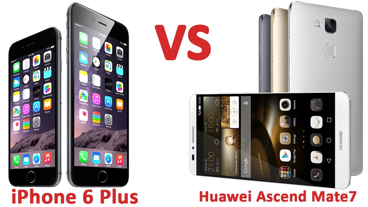 Huawei y5ii vs iphone 6