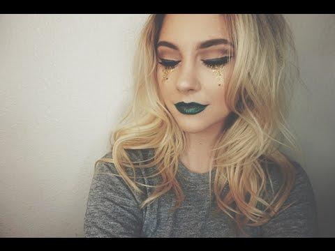 St. Patrick's Day Makeup Tutorial | Glitter Tears 🍀