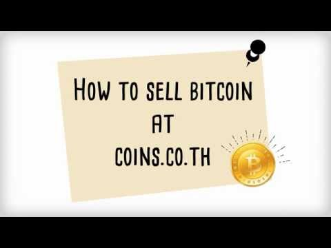 How to sell bitcoin at coins.co.th