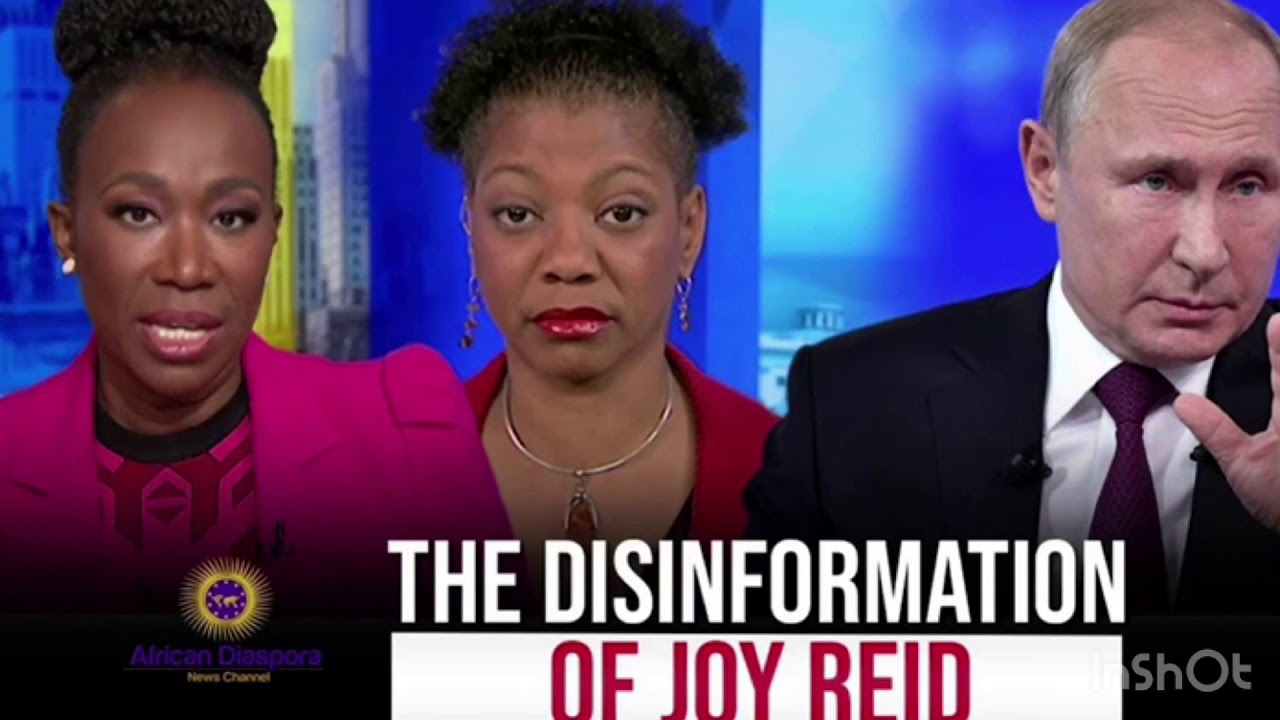 Bootlicks Joy Reid and Shireen Mitchell lie on #ADOS