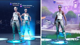 So I Joined This HACKER THAT HAD EVERY UNRELEASED SKIN in FORTNITE and he took me BACK TO SEASON 1..
