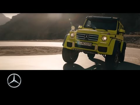 Mercedes-Benz TV: Expecting the new show car G 500 4×4².