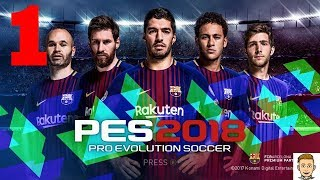 Pes 2018 pro evolution soccer 1080p mobile gameplay #1