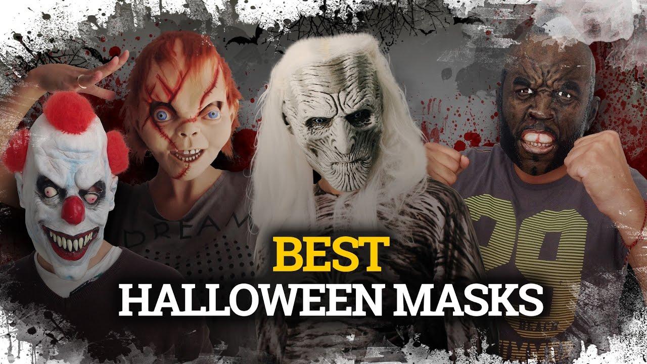 The Best Halloween Masks Las Mejores Mascaras De Terror Trick Or - Mascaras-de-halloween-de-terror